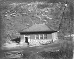 Hydro-electric power house at mouth of Box Elder Canyon, Brigham City, Utah, about 1911
