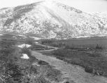 Distant view of Maple Spring Trout Hatchery, Mantua, Utah, 1908