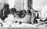 Installing Turbine at City Hydro Plant, Second Dam, 1923-24