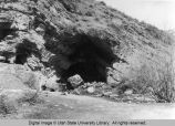 Cave at Ricks Spring, Logan Canyon, Utah, 1975