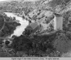 Cutler Dam Powerhouse, Bear River Canyon, Utah, 1976