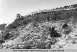 Utah Power and Light Company flume, Logan Canyon, Utah, October 1919