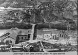 Wheelon Power Plant, Bear River Canyon, Utah, about 1904