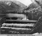 Hercules Power Company Dam on Logan River, 1902