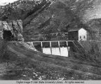 Blacksmith Fork Canyon, Utah, First Dam, 1920s
