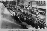 Ringling Brothers Circus Parade, Center Street, Logan, Utah, August 7, 1907