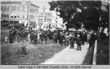 Logan M. and M. Band in Provo for a parade, April 24, 1907