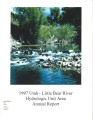 Utah Little Bear River Hydrologic Unit area : annual report for 1997