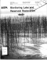 Monitoring lake and reservoir restoration : technical supplement to the lake and reservoir...