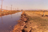Twin Lakes Canal with telephone poles