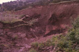 Eroded hillside