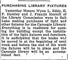 Purchasing Library Fixtures