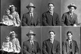 C. N. Hansen (2 poses), Heber J. Stokes (2 poses), A. L. Player (2 poses), I. W. Packer (2...
