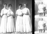 Emma Nelson and Rilla Watkins (2 poses), Charles M. Olsen (girl - 2 poses);