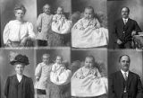 T. H. Blackburn (2 poses), W. Johansen (baby and boy - 2 poses), W. Johansen (baby - 2 poses),...