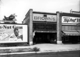 Brown's Shoe Store;