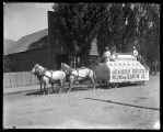 Jensen Brothers Milling and Elevator Co. parade float;