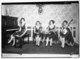 """Gaiety Girls"" four-piece Orchestra on Club stage"