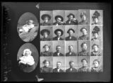 R. L. Fishburn? (baby), unidentified individuals (local and transit stamps)