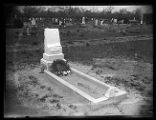 Gravesite of Eleanor Kaiser, shortly after burial;