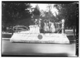 1928 Peach Day parade float (2 of 2)