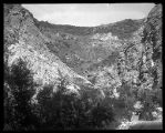 View of cliffs near top of Willard Canyon;