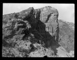 Cliffs in the upper reaches of Willard Canyon;