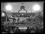 Funeral of Charles Kelly, President of the Box Elder Stake, in the Brigham City Tabernacle;