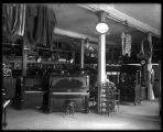 Interior of a furniture shop;