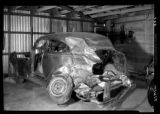 Stewart, Stewart, and Parkinson car wreckage scenes (3 of 5)