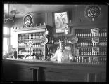 Interior photo of Rudolph Keyser Saloon in Deweyville;