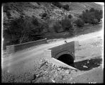 Concrete bridge over Box Elder Creek at the mouth of Box Elder Canyon, leading to Mantua (1 of 3);