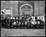 1918 Sophomore class at Box Elder High School;