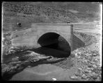 Concrete bridge over Box Elder Creek at the mouth of Box Elder Canyon, leading to Mantua (3 of 3);