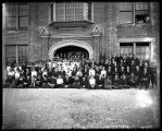 1915 Freshman class at Box Elder High School (1 of 2);