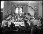 Funeral of Viola Jeppson in the First Ward LDS chapel;