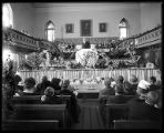 Funeral of Harvey Jeppson in the Brigham City Tabernacle (1 of 2);