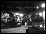 Interior of hydro-electric plant;