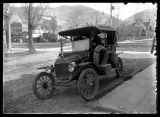 "Richard Allen in a Model ""T"" Ford (2 of 2);"