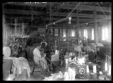 Women at work in the Barron Woolen Mill;
