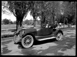 1917 Overland Motor car, on the streets of Brigham City (1 of 2);
