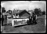 Merrell Lumber Co. float used in the annual Peach Days parade;