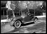 1917 Overland Motor car, on the streets of Brigham City (2 of 2);