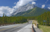 Mountains in  Kananaskis Country, Alberta;