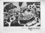 Ribbon Creek Village illustrative, black and white;