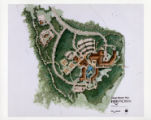 Ribbon Creek Village master plan, color PMT;