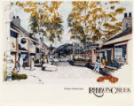 Ribbon Creek Village streetscape, color PMT;