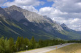 Mountains in  Kananaskis Country, Alberta
