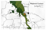 Regional context map for Kananaskis, Alberta, Canada;