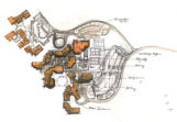 Site plan of Kananaskis Village, Alberta, Canada;